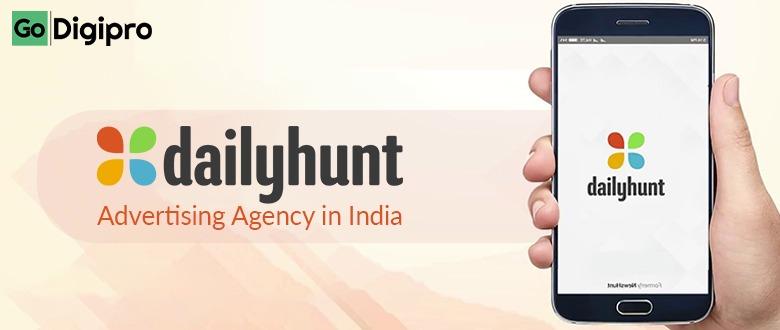 Dailyhunt Advertising Agency in India