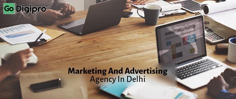 Marketing and advertising agency in Delhi